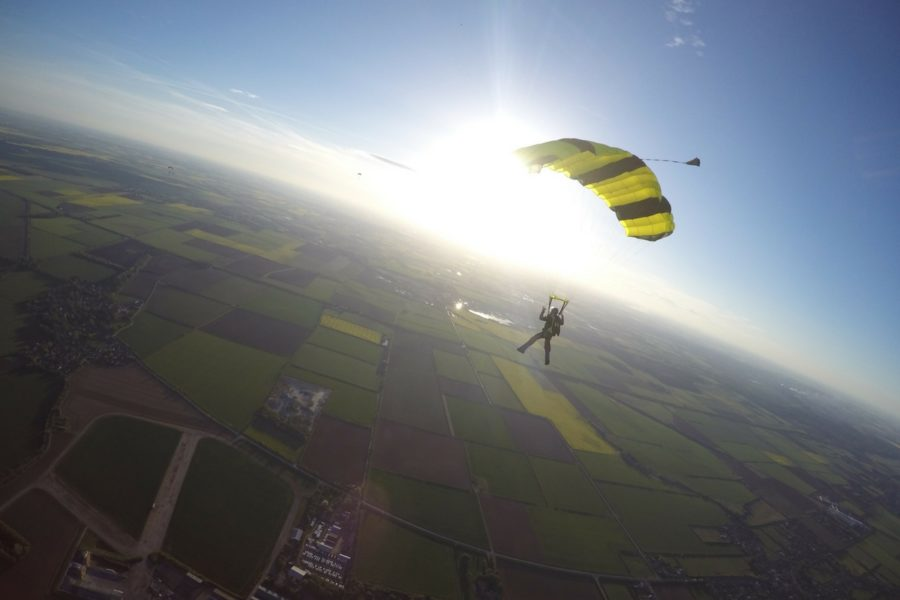 Skydiving For Charity