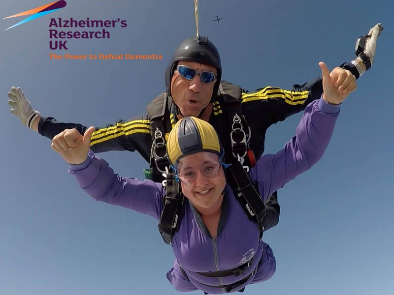 Alzheimers Research UK Charity Skydive