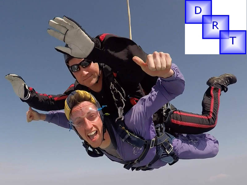 Dyslexia Research Trust Charity Skydive