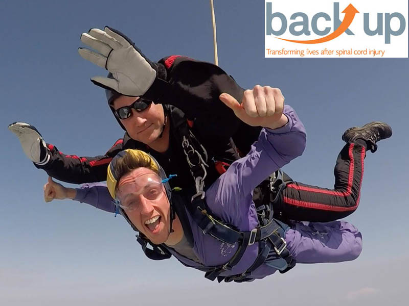 Backup Trust charity skydiving