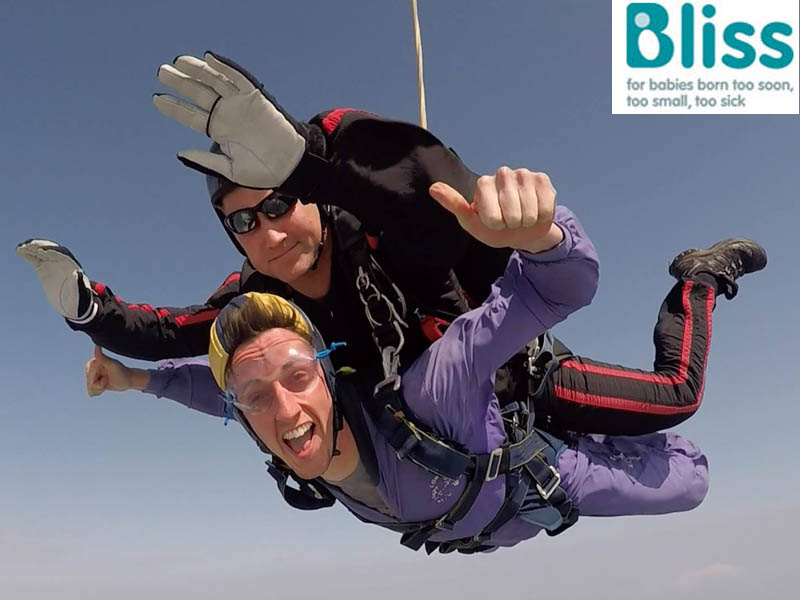Bliss Charity Skydive