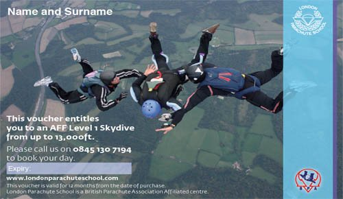 AFF Skydiving