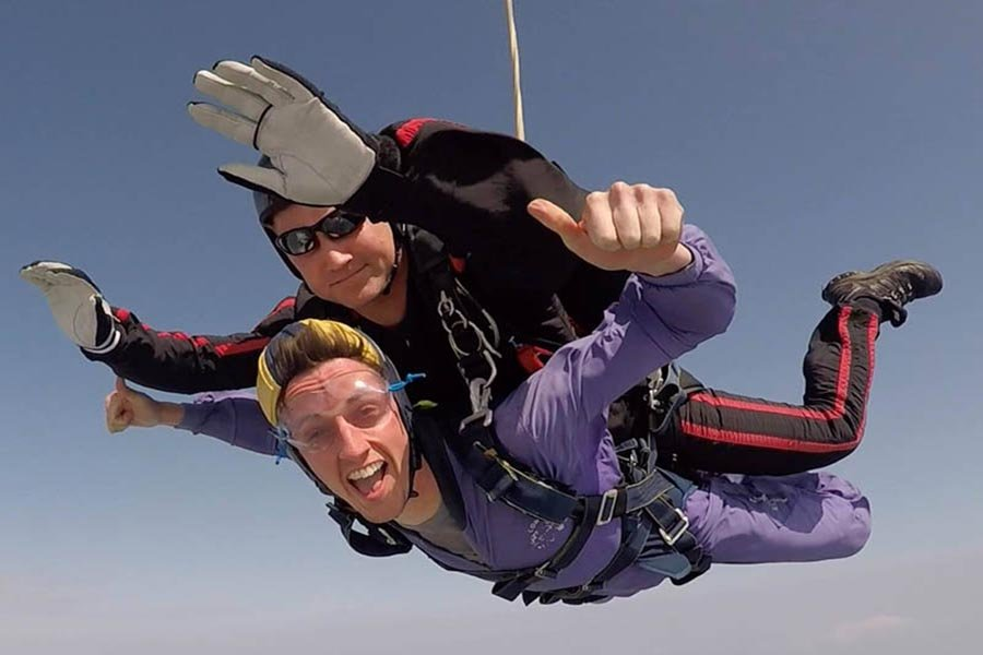London tandem Skydiving
