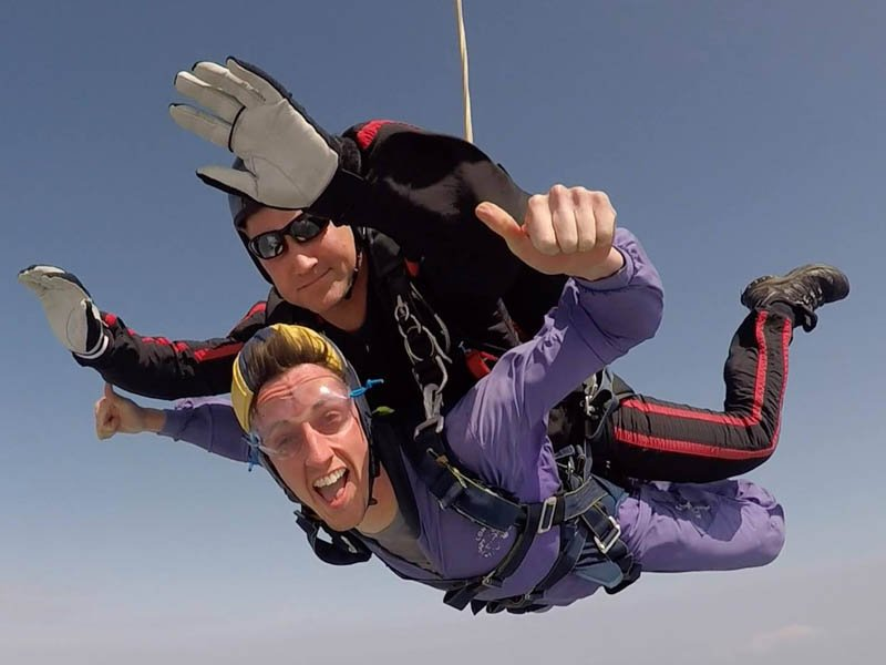 Muscular Dystrophy Support centre Charity Skydive